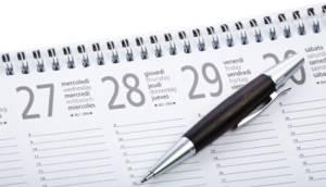 Calendario matrimonios civiles año 2020